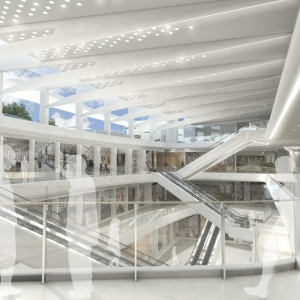 ASYA Design Projects - NCCC Mall Interior