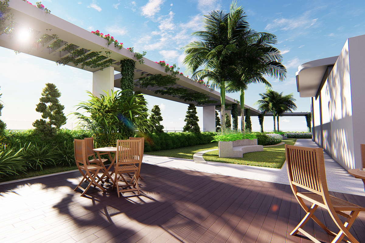 ASYA Design Projects-Lush Residences Roof Deck