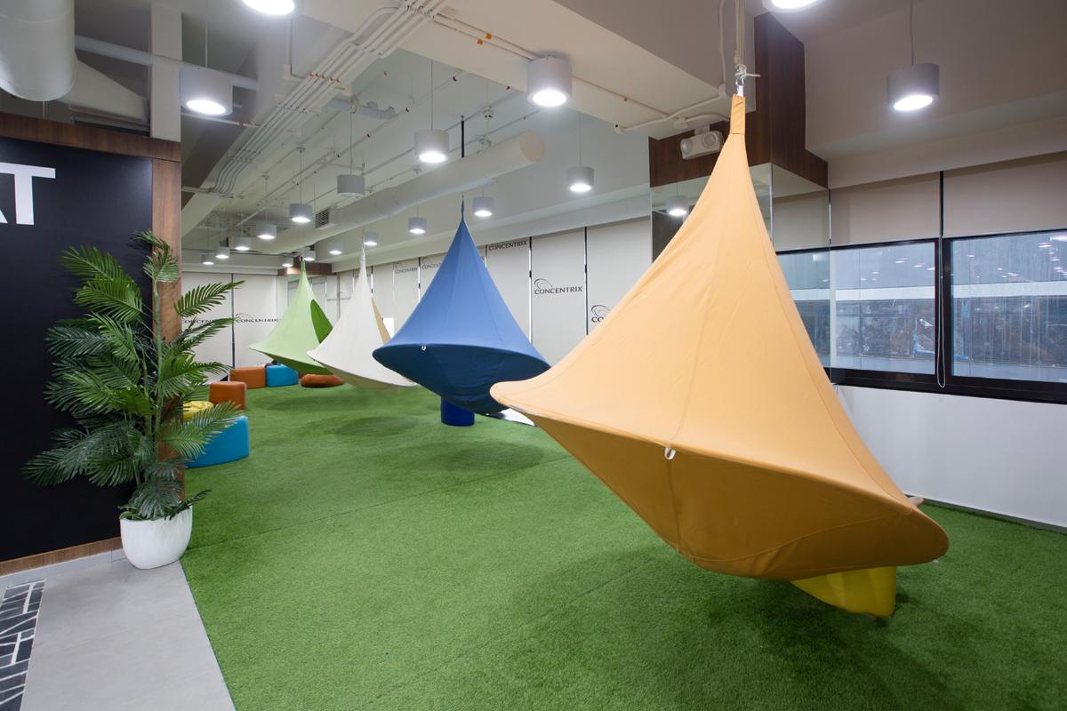 ASYA Design Projects-Concentrix Tera Interior