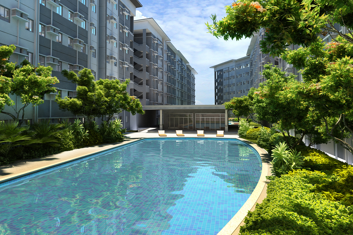 ASYA Design Projects-Leaf Residences Pool Amenity
