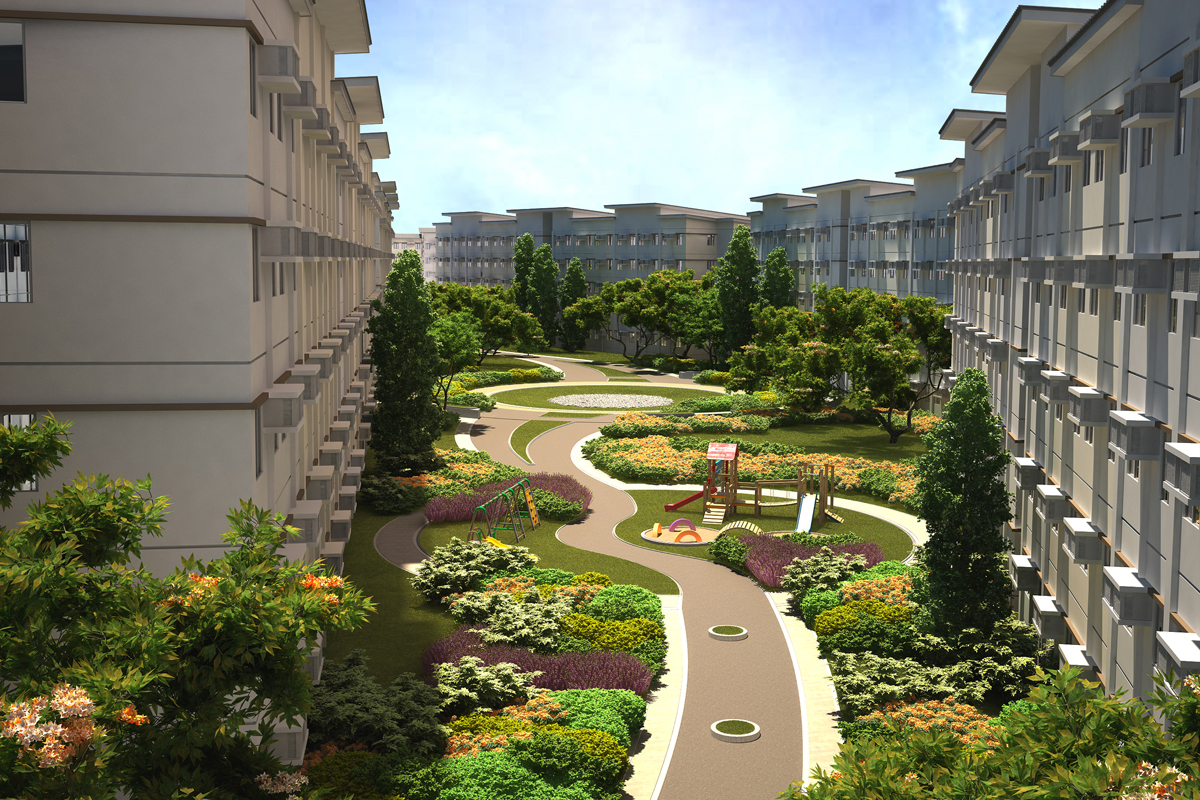 ASYA Design Project-Park Residences Garden