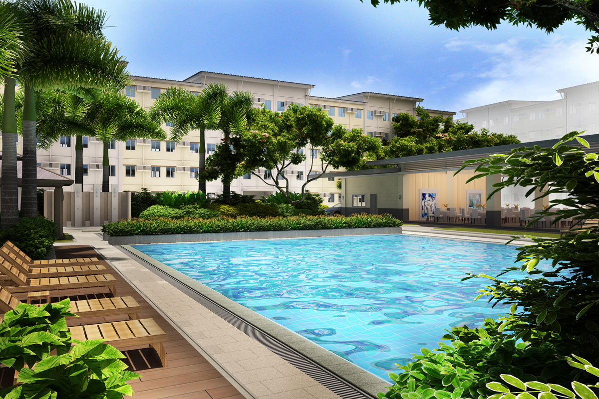 ASYA Design Project-Park Residences Pool Amenity