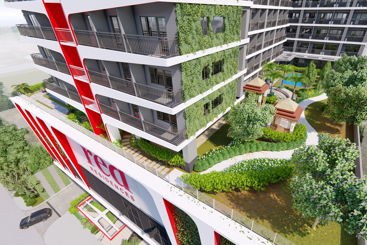 ASYA Design Projects-Red Residences Aerial View