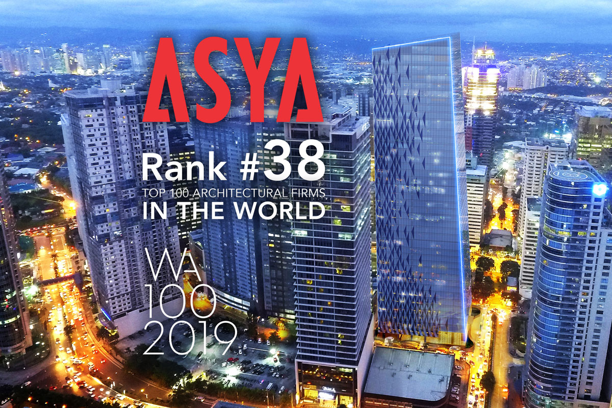 ASYA Design has secured the ranks 38 in WA 100
