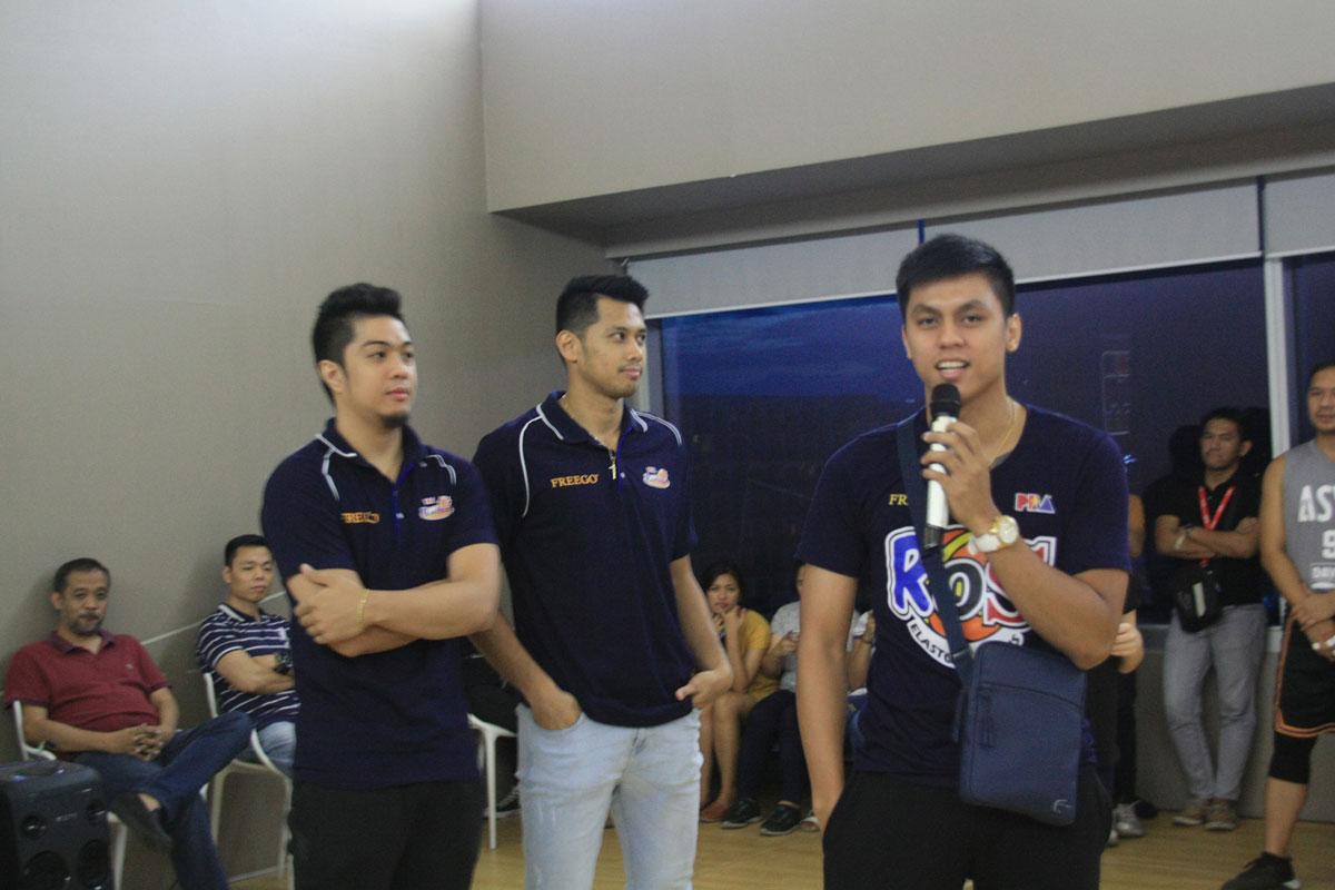 ASYA 3 on 3 Hoops Rain or Shine Members Speaking
