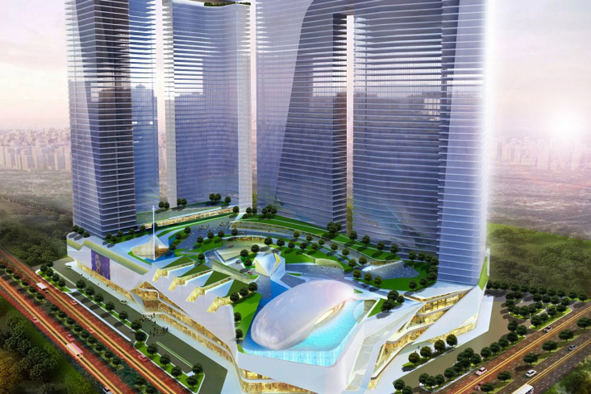 ASYA Design, Proposed Mixed-use Development, Fort Bonifacio