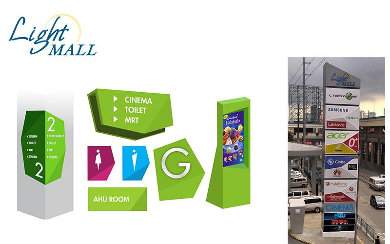 ASYA Design/QASYA - Light Mall Signages