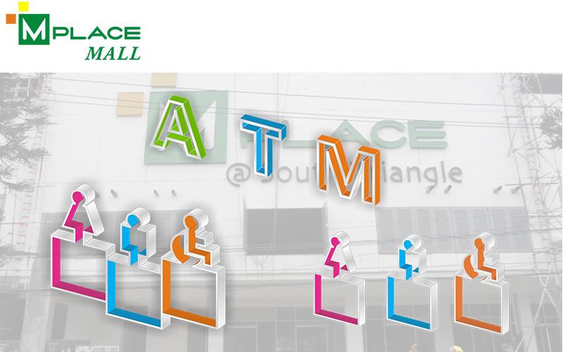 ASYA Design/QASYA - M Place Mall Signages