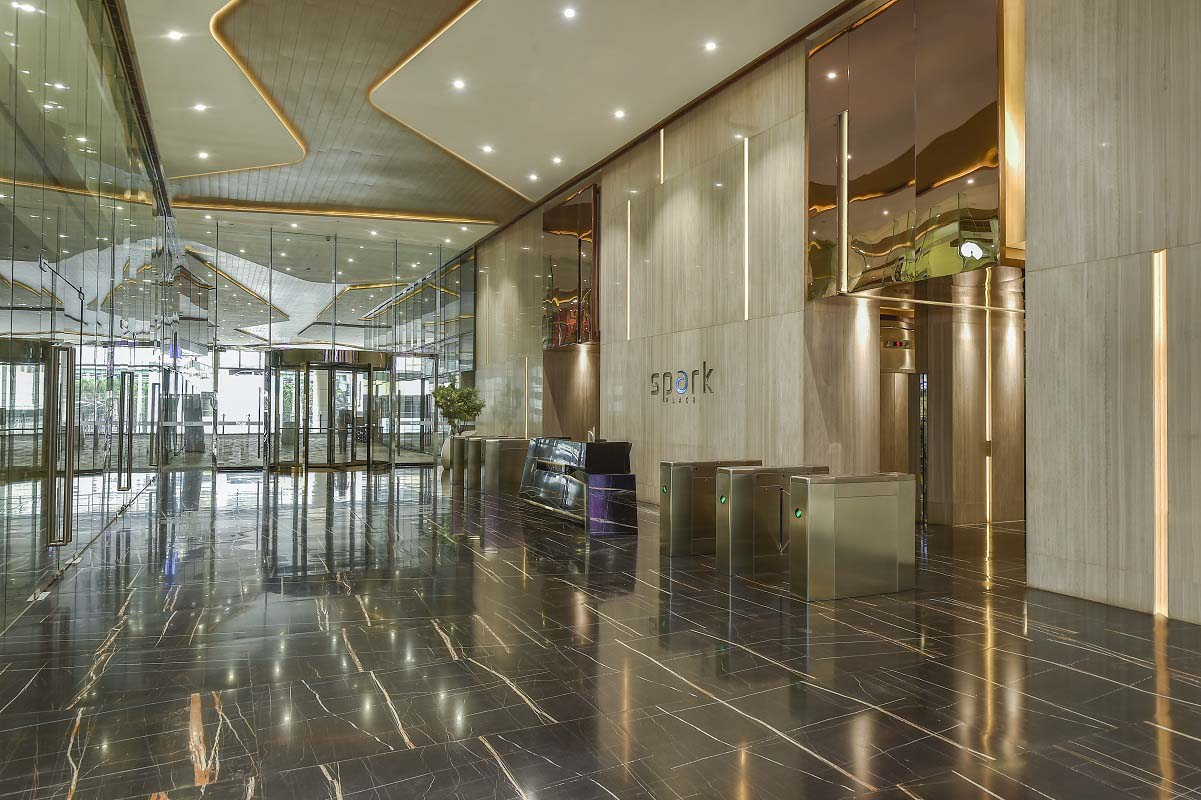 ASYA Design Office Projects Spark Place Lobby