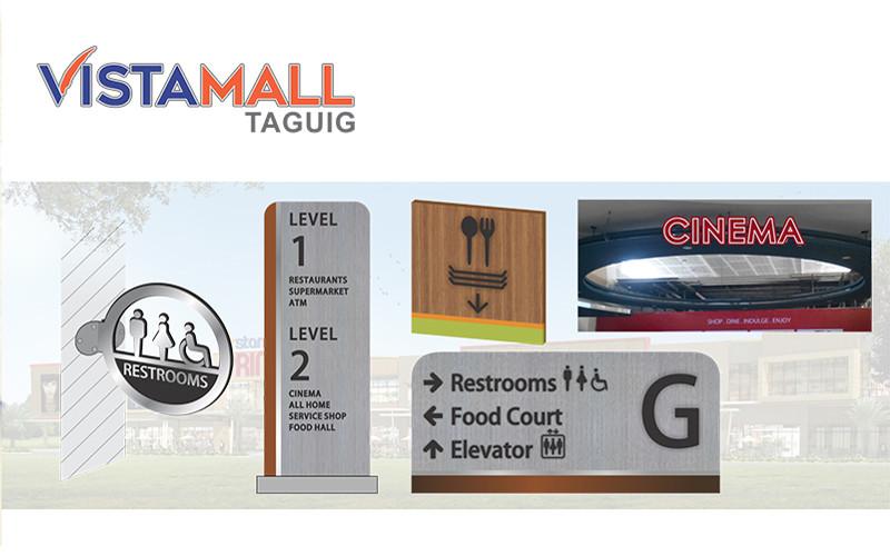 ASYA Design/QASYA - VistaMall Taguig Signages