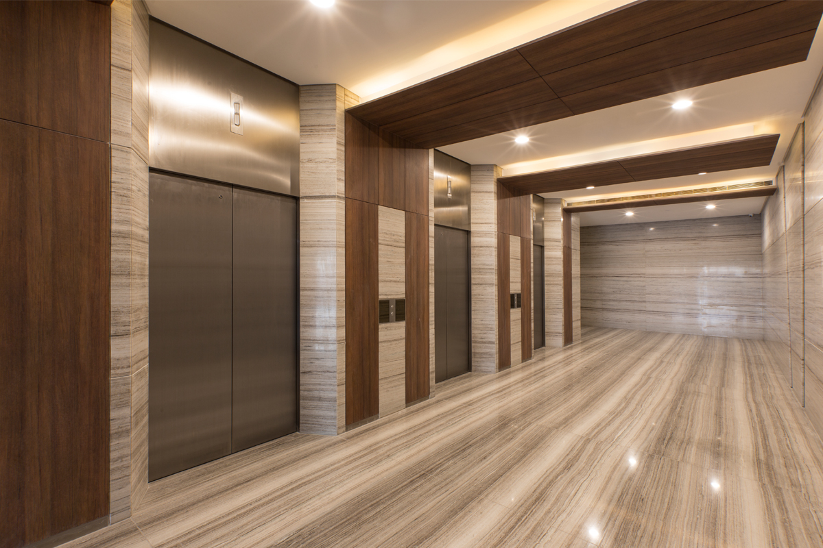 ASYA-Eastfield Center Elevator Lobby