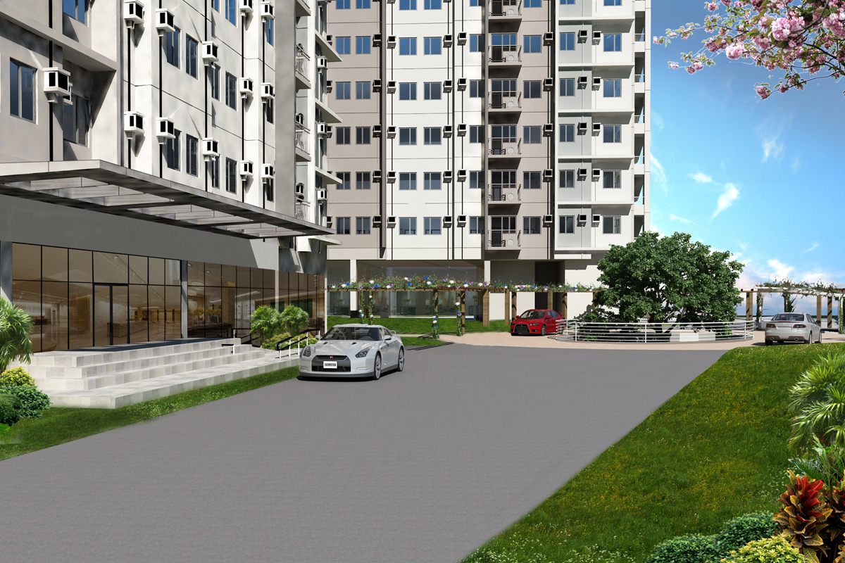 ASYA Design Projects-Vine Residences Drop Off Area
