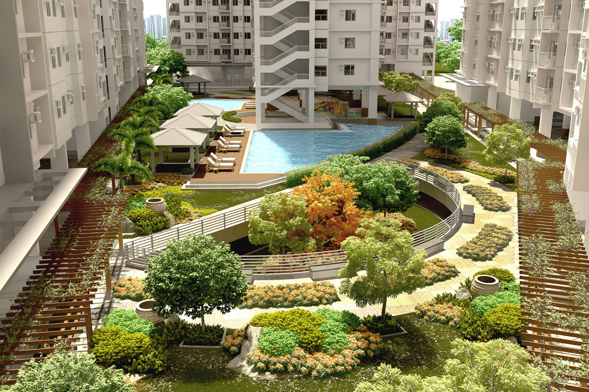 ASYA Design Projects-Vine Residences Lush Garden