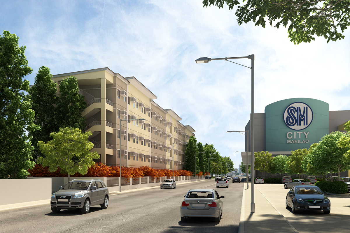ASYA Design Projects-Cheer Residences-Facade