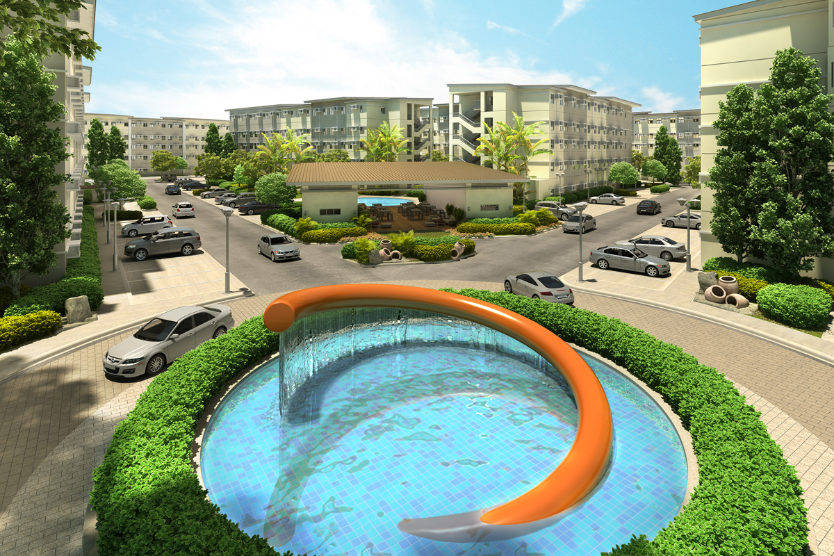 ASYA Design Projects-Cheer Residences Refreshing Pool