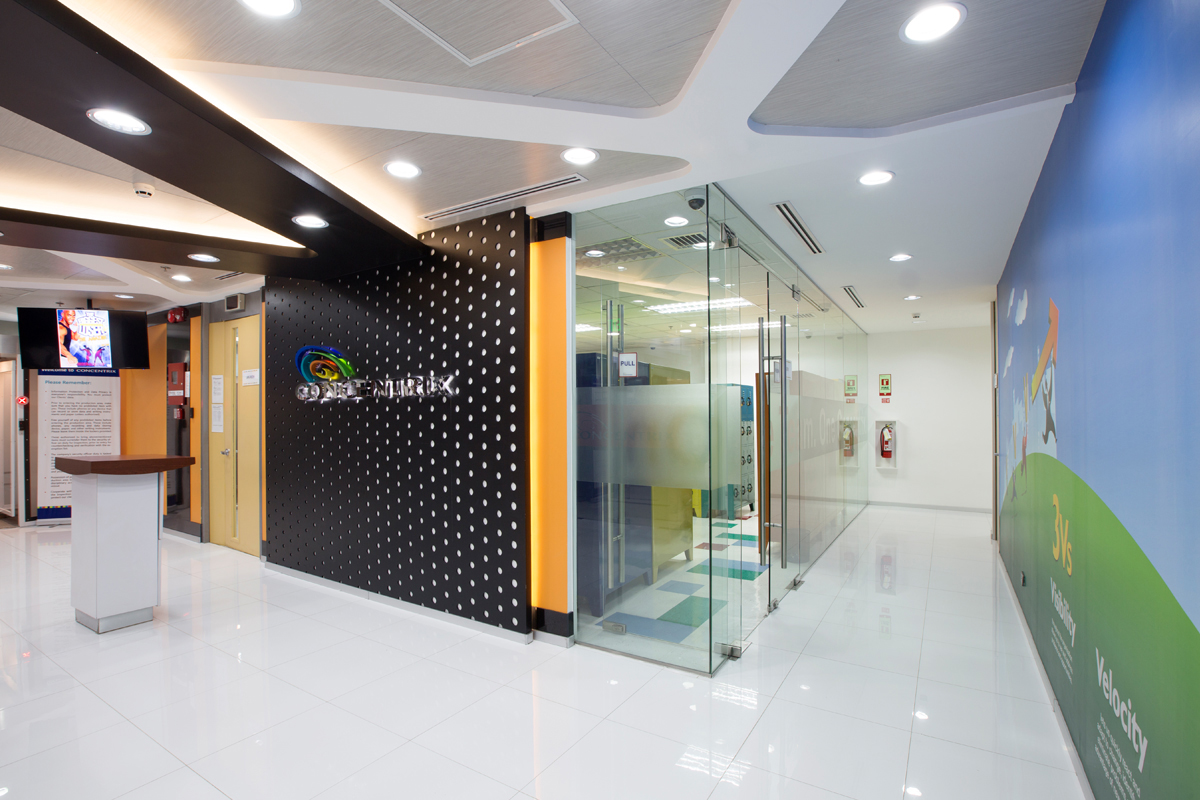 ASYA Design Projects-Concentrix Tera Lobby