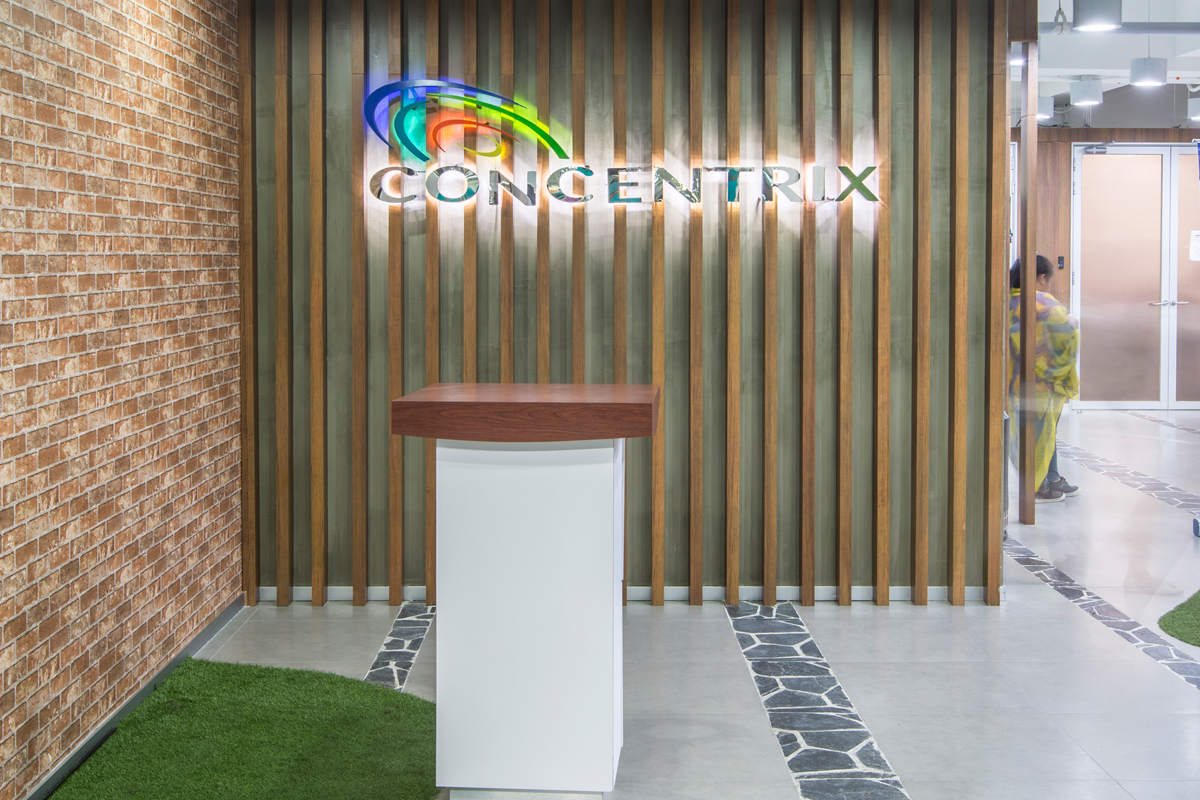 ASYA Design Projects-Concentrix Tera Reception Area