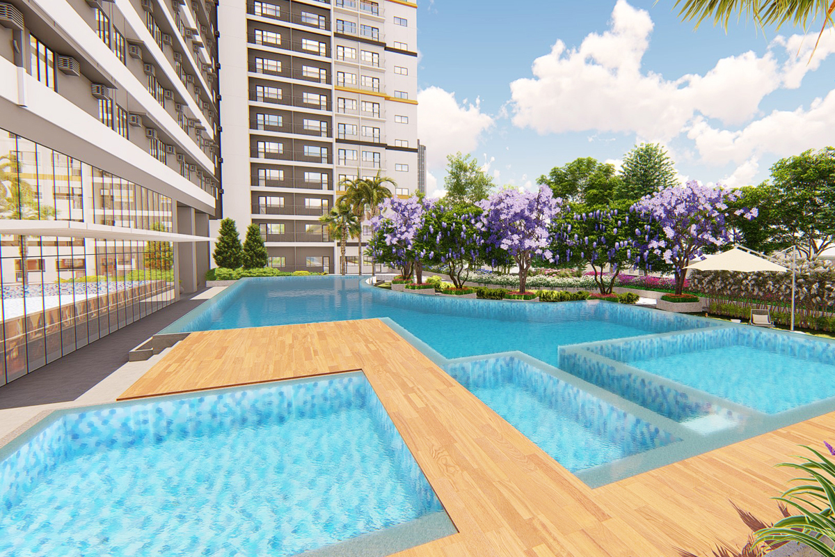 ASYA Design Projects-Glam Residences-Pool Amenity