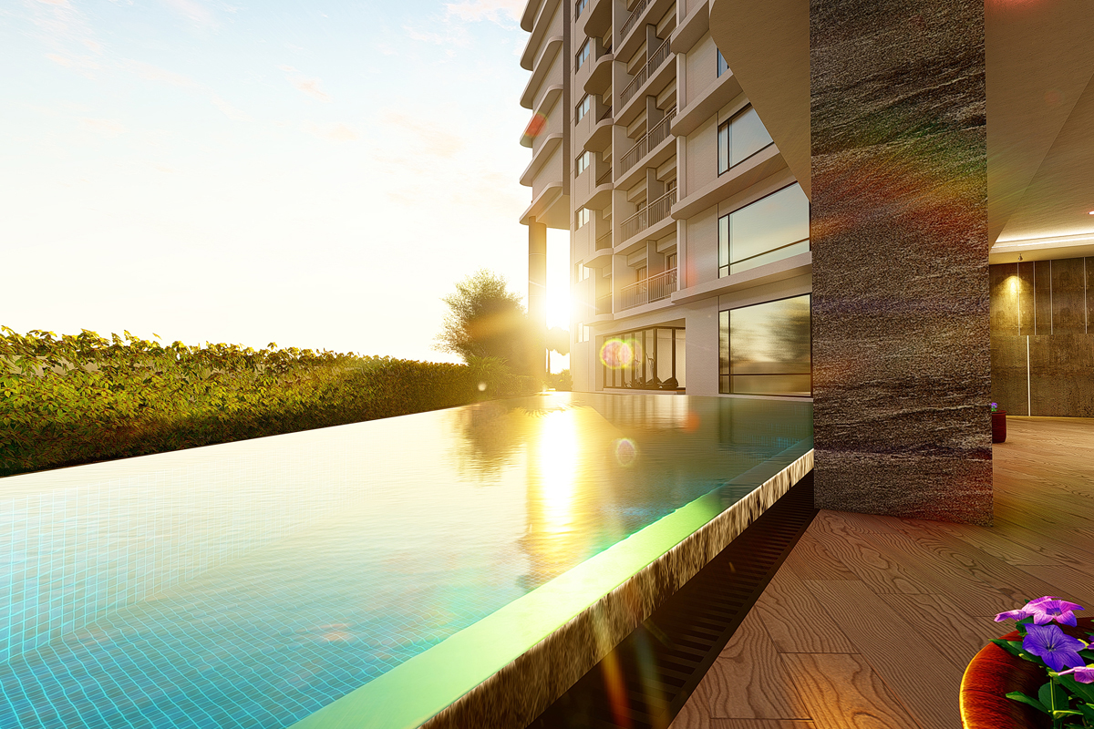 ASYA Design Projects-Lush Residences Sunset