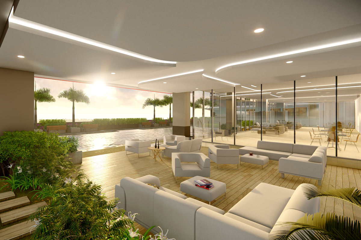 ASYA Design Projects-Red Residences Amenity