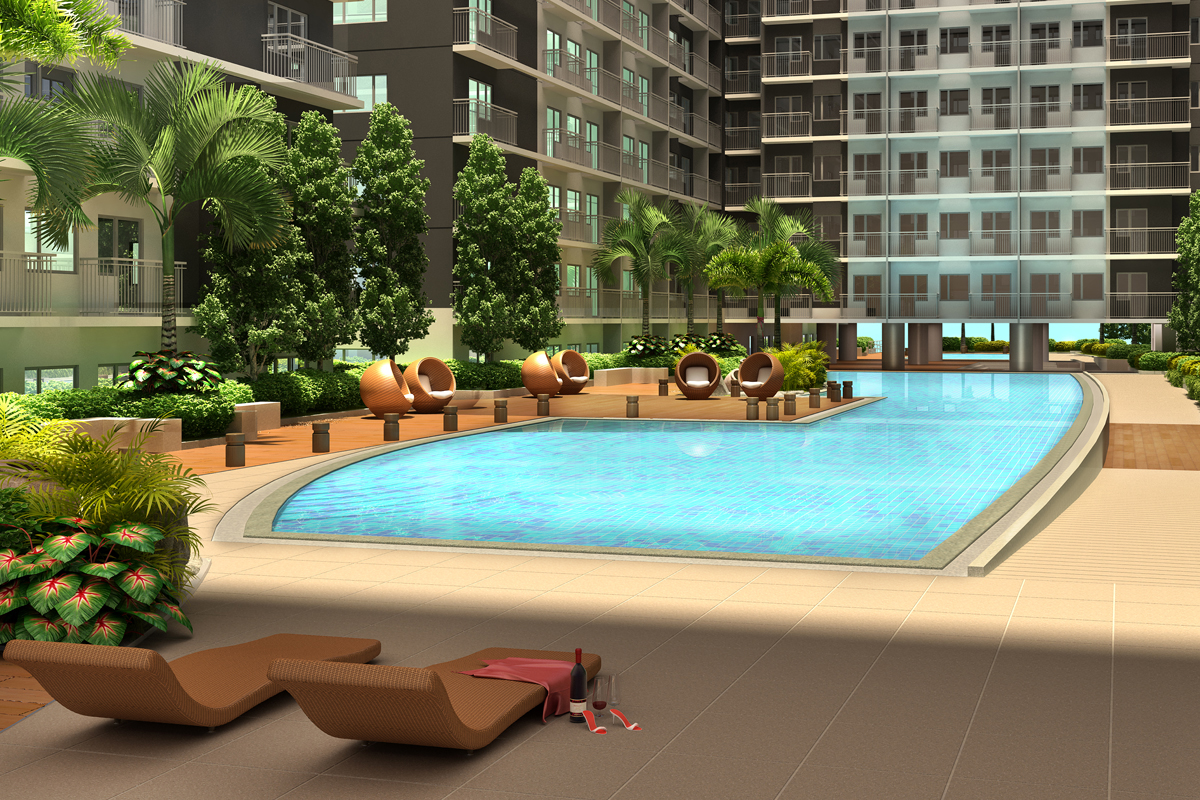 ASYA Design Projects-Shore 3 Residences Pool Amenity