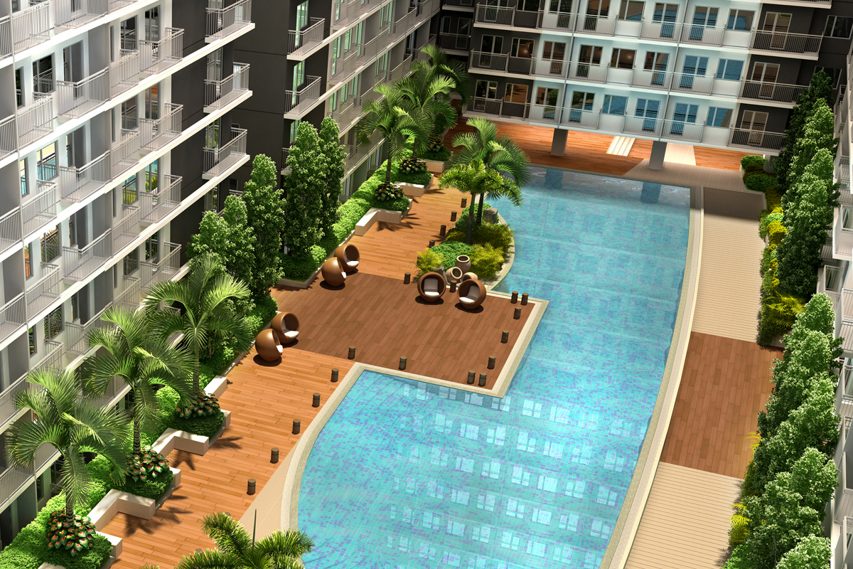 ASYA Design Projects-Shore 3 Residences Aerial View