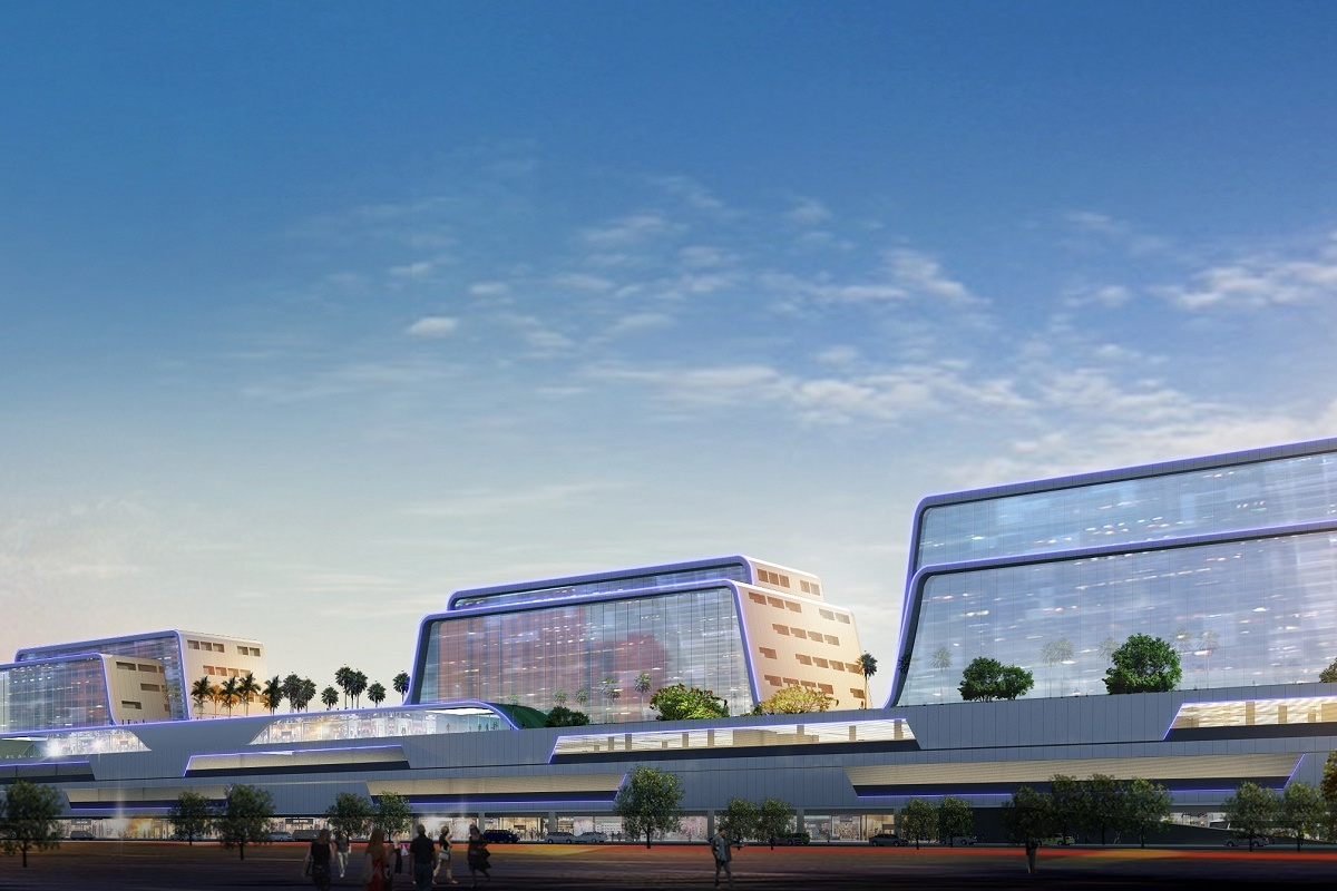 Facade look of Southwest Integrated Transport Station