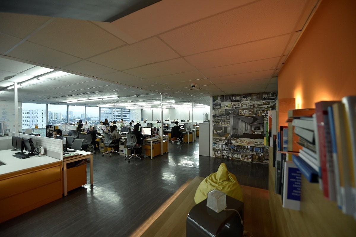 ASYA-A Place Building Interior