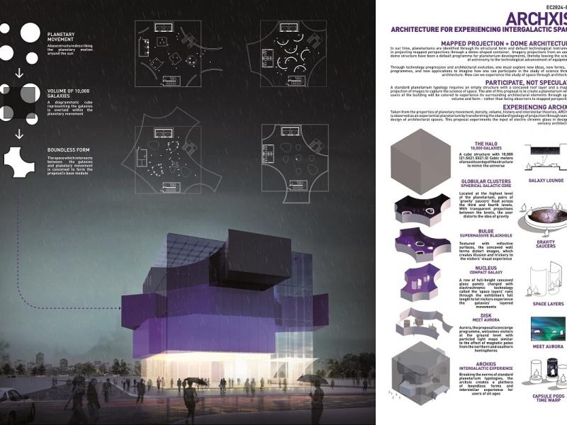 Planetarium Competition Entry - ARCHXIS