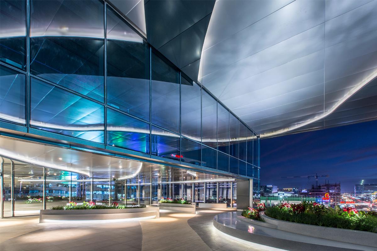 ASYA DESIGN OFFICE PROJECTS EASTFIELD CENTER GARDEN DECK
