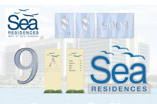 ASYA Design/QASYA - Sea Residence Signages