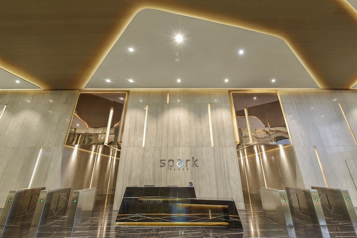 Spark Place Lobby in Cubao